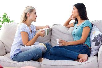 Общение с друзьями очень важно для поддержаня позитивного настроя