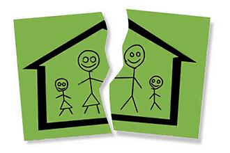Место проживания ребенка после развода родителей
