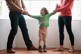 Родители не могут поделить ребенка после развода